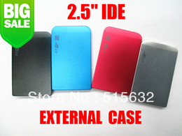 "Wholesale Colour Laptop - Wholesale- 2.5"" IDE Hard Drive Disk HDD External Black Case Enclosure Box USB 2.0 Laptop PC four colour"