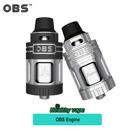 Wholesale Rebuilt Engines - Original OBS Engine RTA Tank 5.2ml Top Filling and Airflow Never Leak out isolated Rebuild Deck VS OBS Crius RTA  Engine Mini