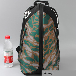 Wholesale Dk Girls - Kevin Durant backpack DK army colorful day pack Fans camouflage school bag Basketball star rucksack Sport schoolbag Outdoor daypack