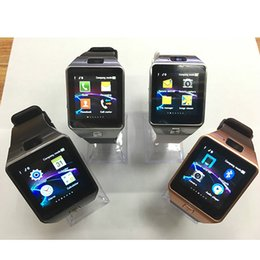 Wholesale Korean Mobile Wholesale - Free Shipping DZ09 Smart Watch Wrisbrand Android use 2G SIM card Intelligent mobile phone Smartwatch