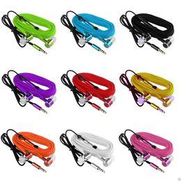 le cuffie delle scarpe Sconti Cuffie auricolari per cuffie auricolari in-ear in metallo universale da 3,5 mm per iphone 5 6 Samsung htc android phone