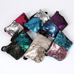Wholesale Mermaid Body - Fashion Sequin Mermaid Cross Body Bag Should Bags Women Gifts Makeup Multipurpose Storeage Bags Gifts YYA232