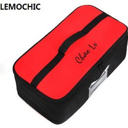 Wholesale Lunch Bag Backpack - Wholesale- LEMOCHIC New Portable Lunch Bags for Women kids Men backpack picnic bags for organizador High quality