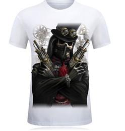 Wholesale Big Tall Shirts 5xl - fashion 3D T Shirt Hot 2017 New 3d Printed Cool pirate yeezus T Shirt Mens-6XL KANYE WEST Cotton T-Shirt for tall and big men Free shipping