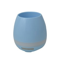 Wholesale Good Outdoor Speakers - Bluetooth speaker Smart Touch Music Flowerpots Plant Piano Music Playing Wireless Plastic Flowerpot (Whitout Plants) good price