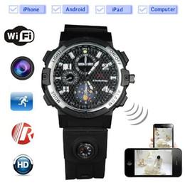 Aplicativo de câmera sem fio para celular android on-line-WI-FI Assista Câmera IP com visão noturna HD 720 P vigilância sem fio P2P Assista DVR Monitor remoto da câmera de vídeo por APP IOS Android