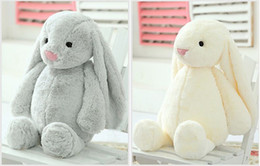 Wholesale Cute Animals Videos - Bunny Rabbit 2018 New Lovely Stuffed Baby Girls Toys Cute 30CM 40CM 50cm Animals Soft Stuffed Dolls Toy Christmas Holiday Gifts