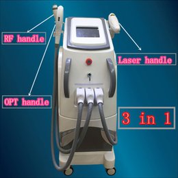 Wholesale Ipl Rf Machines - RF face machine ipl Shr RF SHR IPL hair removal machine elight skin care rejuvenation beauty equipment