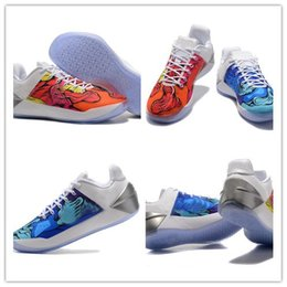 Wholesale Ad Flat - 2017 New Arrival Kobe 12 A.D Basketball Shoes Mens Bryant Kobe XII Elite Sports shoes KB 12s AD Elite Low Sports sneakers Size 40-46
