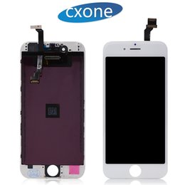 Wholesale Touch Screen Replacement Inch - Best Grade AAAA Quality LCD For iPhone 6 Touch Screen Panels Display Digitizer Replacement 4.7 inch free shipping