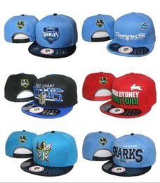 Wholesale Black Football Helmet - 2017hot Wholesale NRL Cap Hat Baseball snapback hats for man With Logo Tags Football Helmet Outdoor Sports Hat NRL Ladder Mix Order