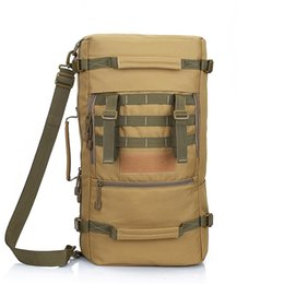 Wholesale Oxford Khaki - Local Lion Brand New 50L Large capcity Waterproof Travel Backpack Outdoor Sport Hiking Camping Backpack For Women Men
