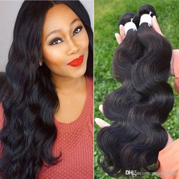 Wholesale Brizilian Malaysian Peruvian Human Hair - Brizilian virgin hair extensions wefts remy body wave hair weaves Brazilian human hair bundles body wave 100%