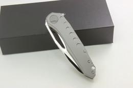 Wholesale Alloy Tool Steels - Samier Knives High Quality Tony Marfione Sigil Custom Folding Knife M390 Steel Blade Sand Blasting Titanium Handle Tactical Survival Tools