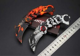 Wholesale Mk Box - 2017 Mantis MK-3 X64 Tactical Folding Knife 5Cr15Mov Aluminum Handle Claw Karambit Outdoor Hunting Survival Pocket Knife with Retail Box
