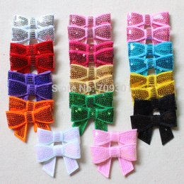 """Wholesale Boy Headbands - 2 """"Sequin Bows Newborn Boy and Girls Hair Bows Boutique Hair Accessories Fashion Headbands 14 Colors 120pcs Free Shipping"""