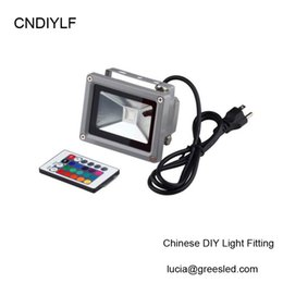 Wholesale Air Registers - Wholesale- Shipping Via Register Air Mail Wholesales Outdoor Waterproof RGB LED Flood Light IP65 10W 20W 30W 50W 85-265V