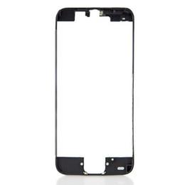 Canada Cadre LCD Cadre LCD avec cadre pour numériseur avec lunette centrale forte pour colle chaude pour iPhone 5G 5S 5C 6 4.7