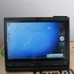 Wholesale Nissan Car Diagnostic Computer - 2017 Car Diagnostic Computer Thinkpad X200T Touch Laptop Work for BMW ICOM A2
