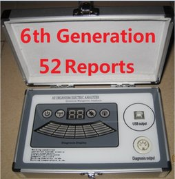 Wholesale 2017 Newest th Generation Comparative Reports with core Quantum Magnetic Resonance Analyzer DHL Free Ship in Real Version Software