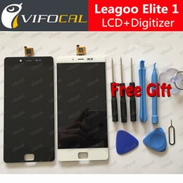 Wholesale New Display For Mobile Phone - Wholesale- LEAGOO Elite 1 LCD Display + Touch Screen + Tools FHD 100% New Digitizer Assembly Replacement For LEAGOO Elite 1 Mobile Phone