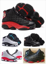 Wholesale Black Shoes Size Girls - Children's Retro Basketball Shoes Kids Athletic Sports Shoes for Boy  Girls Shoes Free Shipping size:28-35