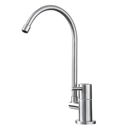torneira cozinha kitchen Promo Codes - Wholesale- BLH 531 Healthy Stainless Steel Torneira De Cozinha Brushed Nickel Mini Kitchen Faucet Drinking Water Faucet Single Mixer Tap