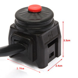 Wholesale Quad Switch - Universal Kill Stop Switch Horn Button for Motorcycle Pit Quad Bike AUP_200