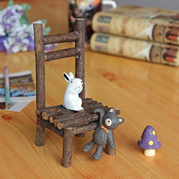 Wholesale Girl Studies - Wooden Craft Decorative Beach Chair Small Ornaments Kitchen Decor Home Decoration Fashion Decor Accessories Girl Type