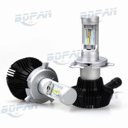 Wholesale Replace Car Light Bulb - 2pcs set Car LED Headlight H1 H3 H4 H7 9005 9006 50W 8000LM For Chip Car Fog DRL Replace Light Source Driving Bulbs G7