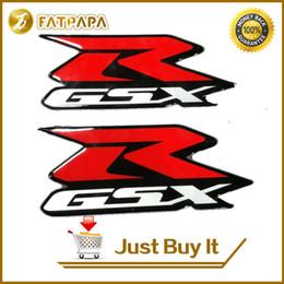 Wholesale Decal Suzuki - 3D LOGO motorcycle fuel tank decals stickers suitable for Suzuki GSXR 600 750 1000