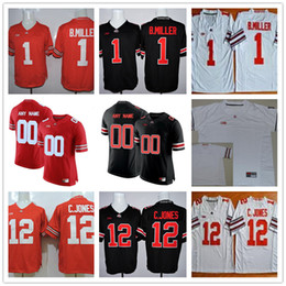 Ohio State Buckeyes College 1 Dixon Okudah 12 Skalitzky 69 Matthew Burrell  18 Jonathon Cooper White Red Black Mens Womens Kids Cheap Jerseys 5cc815122