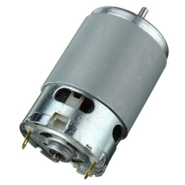 Wholesale High Torque Electric Motor 12v - 775 motor High speed Large torque DC motor Electric tool Electric machinery 12V 775 Electric machinery