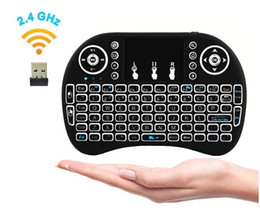Wholesale Google Tv Mouse - Hot Sale Fly Mouse For Google Tv Box MINI PC Touch Flying Squirrel A21 2.4G Wireless Qwerty Wifi keyboard With Smart TV A21 RII I8 Free DHL