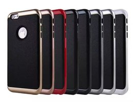 Wholesale Iphone 5g Tpu - Motomo Armor Case For Apple iPhone6S iPhone7 Plus 5G Samsung Galaxy S7 S8 Hydrid shockproof PC+TPU Back Cover