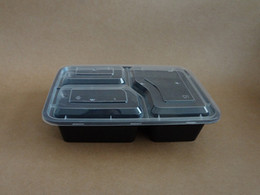 Wholesale Take Away Package - Wholesale package mail with lunch boxes Three high thickening snack box take-away packaging boxes The disposable lunch box
