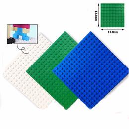 Wholesale Education Toys For Kids - Wonderful New Popular Base Plate 16x16 Dots Building Bricks Blocks Education Toys Compatible with Mini Figures Legoe Blocks For Kids
