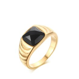 Argentina Meaeguet alta calidad anillos de los hombres de ágata anillos de compromiso de color oro para hombres anillo redondo joyería RC-250 Suministro