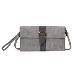 Wholesale Dress Evening Clutch - 2017 Elegant Lady Clutch Bag Wallets Holders Envelope Shoulder Strap Plain PU Women Dress Hasp Fashion Phone Bag Evening Bag VKP5301