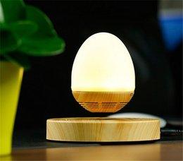 Canada Date LED ampoule Portable lévitation haut-parleur Bluetooth flottant pour iPhone 7 Samsung xiaomi téléphone 360 degrés avec chambre nuit Offre