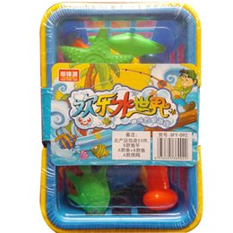Wholesale New Toys Bulk - New children's toys interesting marine biology magnetic bulk fishing for children birthday present toys development baby intelligence