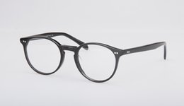 Wholesale Vintage Steel Box - 2017 New Oliver Peoples Glass frame OV5241 fashion myopia spectacle frame women and men Vintage eyewear frame with original box