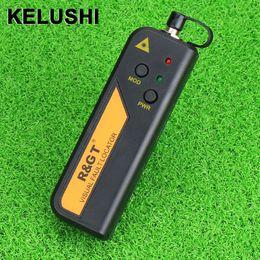 Волоконно-оптический кабель онлайн-Wholesale- KELUSHI 30mw Red Laser Light Fiber Optic Cable Tester Visual Fault Locator also 30KM Checker