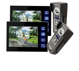 Wholesale Touch Video Intercom System - 7 inch Door bell System Touch Pad Monitor & Camera Doorbell phone Home Video intercom System IR camera