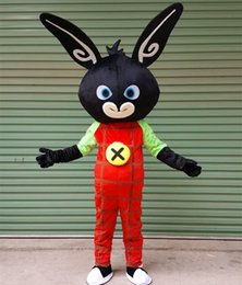 Wholesale Bunny Mascot - 2017 new Free shipping bing bunny Mascot Costume Customized Adult Size rabbit Cartoon Character Mascotte LLFA1011