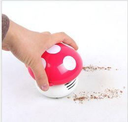 Wholesale Hands Vacuum Cleaner - NEW Authentic colored mushrooms electric vacuum cleaner dust Desktop Desktop Vacuum Cleaner mini vacuum cleaner cartoon