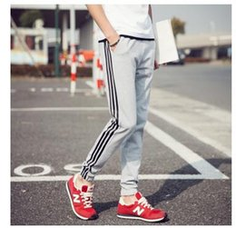 Wholesale Harem Pencil Pants Men - 2017 Men's Joggers Pant Hip Hop Fitness Pantalon Homme Casual Pant Trousers Sweatpants Harem Pants