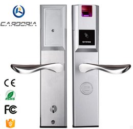 Wholesale Digital Fingerprint Lock - CARDORIA 1068ZW High Quality New Product Keyless Digital Security Biometric Fingerprint Door Lock 304 stainless steel