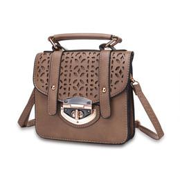 Wholesale Small Smart Phones - 2016 Hot Fashion Pattern smart handbag for phone Women Genuine Leather Messenger Bag wholesale free shipping