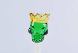 Wholesale King Pipe - Skeleton King Glass Smoking , Wholesale Glass bongs Oil Burner Glass Pipes Waters Pipe Oil Rigs Smoking Free Shipping